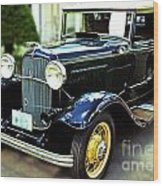 1932 Ford Cabriolet Wood Print