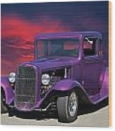 1932 Ford Coupe 'people Eater' Wood Print