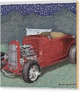 1932 Ford High Boy Wood Print