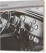 1932 Ford Highboy Dashboard Car Automobile In Color  3108.02 Wood Print