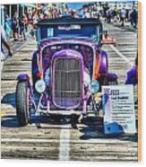 1932 Ford Roadster Front Wood Print