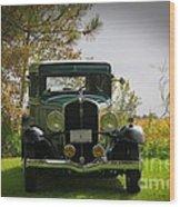 1932 Frontenac 6-70 Sedan  Wood Print