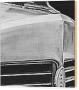 1932 Marmon Sixteen Lebaron Victoria Coupe Hood Ornament - Grille Emblem - 1904bw Wood Print
