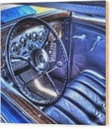 1932 Packard V12 Convertible Coupe-roadster V2 Wood Print
