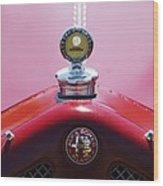 1933 Alfa Romeo P-2 Monza Hood Ornament Wood Print