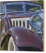 1933 Chrysler Imperial - Cl Phaeton Wood Print