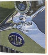 1933 Delage Wood Print