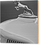 1933 Dodge Ram Hood Ornament 2 Wood Print