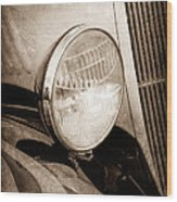 1933 Ford Coupe Hot Rod Wood Print