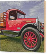1933 International Truck Wood Print