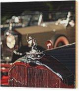1933 Pierce Arrow 12 Convertible Sedan By Lebaron 5d26739 Wood Print