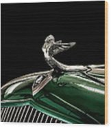 1933 Plymouth Mascot Wood Print