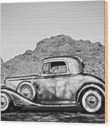 1933 Pontiac -0008bw Wood Print