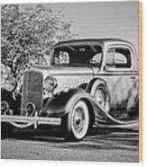 1933 Pontiac -0011bw Wood Print