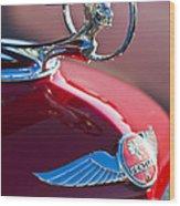1933 Pontiac Hood Ornament 3 Wood Print
