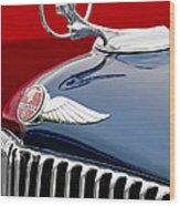 1933 Pontiac Street Rod Hood Ornament Wood Print