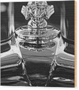 1933 Stutz Dv-32 Hood Ornament 4 Wood Print