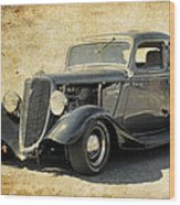1934 Ford Five Window Coupe Wood Print