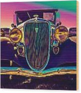 1934 Ford Front Wood Print