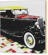 1934 Ford Phaeton V8  Wood Print