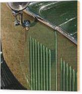 1934 Green Rolls Wood Print