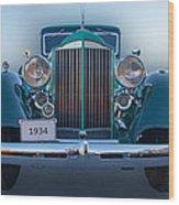 1934 Packard Super 8 Wood Print