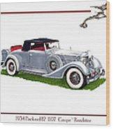 1934 Packard Twelve 1107 Coupe Wood Print