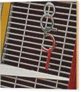 1935 Auburn 851 Cabriolet Grille Emblem Wood Print