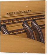 1935 Auburn Supercharged  Wood Print