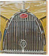 1935 Bugatti Type 57 Roadster Grille Wood Print by Jill Reger