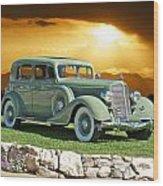 1935 Buick 61 Sedan Wood Print