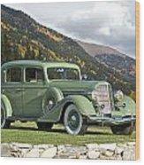 1935 Buick Club Sedan Wood Print