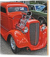 1935 Chevy Coupe Wood Print