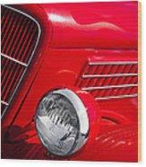 1935 Ford Humpback Wood Print by David Patterson