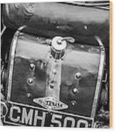 1935 Frazer Nash Tt Replica Shelsley -0223bw Wood Print
