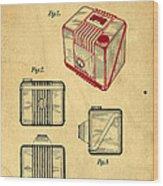 1935 Kodak Camera Casing Patent Wood Print