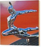 1935 Pontiac Sedan Hood Ornament 2 Wood Print