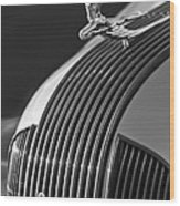 1935 Pontiac Sedan Hood Ornament 3 Wood Print