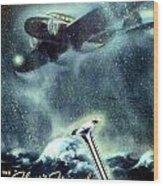 1936 - Thompson Valves Advertisement - Poster - Color Wood Print