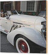 1936 Auburn Super Charger Wood Print