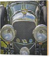 1936 Bentley 4.5 Litre Lemans Rc Series Wood Print