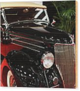 1936 Ford Deluxe Roadster - 5d19963 Wood Print