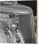 1936 Ford - Stainless Steel Body Wood Print
