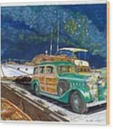 1936 Hispano Suiza Shooting Brake Wood Print