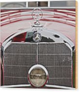 1936 Mercedes-benz 540k Mayfair Special Roadster Grille Wood Print