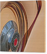 1936 Packard Spare Tire  Wood Print