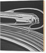1936 Pontiac Hood Ornament 5 Wood Print by Jill Reger