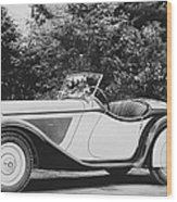 1937 Bmw Convertible Wood Print