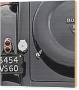 1937 Bugatti Type 57c Ventoux Wood Print by Jill Reger