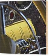 1937 Cord 812 Phaeton Controls Wood Print